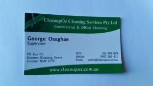 Cleanupoz Commercial Cleaning & Office Cleaning Services Sydney